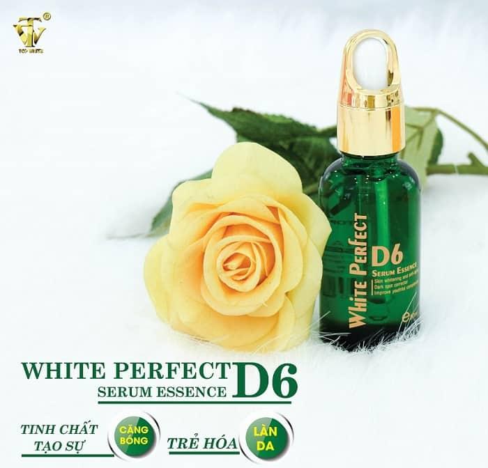 Serum Top White Perfect D6 - Tái tạo làm căng bóng trẻ hóa da